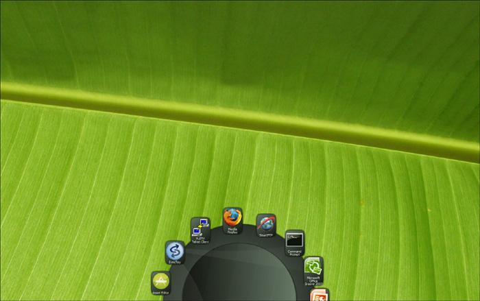 Gizmo Toolbar, una alternativa a la barra de herramientas de Windows Gallery5-shot