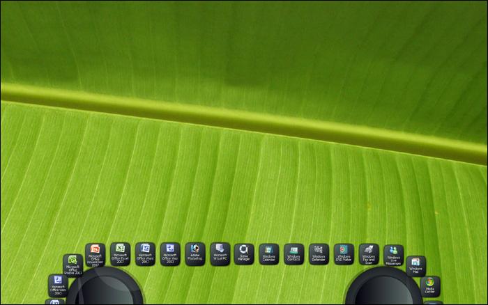 Gizmo Toolbar, una alternativa a la barra de herramientas de Windows Gallery6-shot