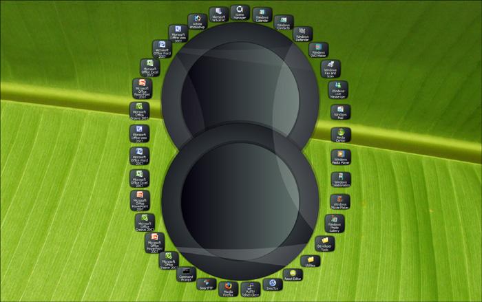 Gizmo Toolbar, una alternativa a la barra de herramientas de Windows Gallery9-shot